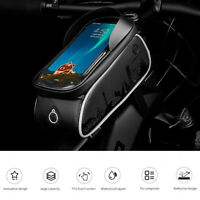 Wheel Up MTB Bike Bag Touchscreen Cycling Frame Waterproof Tube Phone Case