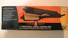 New Gold N Hot Gh3013 Ceramics Professional Ceramic Crimping Iron, 2-Inch