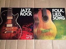 V/A - FOLK / LIED / SONG / JAZZ / ROCK - NACHWUCHS-FESTIVAL POP '80 - 2 LP