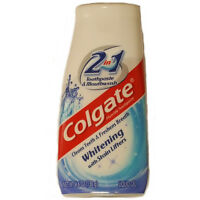 4 Pack - Colgate 2 in 1 Whitening Toothpaste, 4.6Oz Each