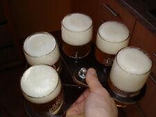 Fächer Tablett für bis zu 5 Biergläser passt in jede Hosentasche NEU f.Willi Bec