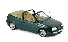 VW Golf III Cabrio 1995 grün met. 1:18 Norev 188431 neu & OVP