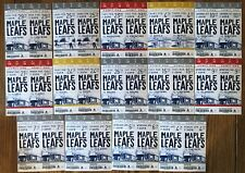 TORONTO MAPLE LEAFS Unused lot of 28 TICKETs 2015 Different games SEASON 99
