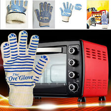 1Pcs Thicken Double-deck Pot Holder Ove Glove Oven Mitt Heat Resistant Antislip