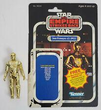 Vintage Kenner Star Wars C-3PO Original figure with ESB backer card Complete