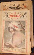 LA MONELLA SETTIMANALE MARIO NERBINI ILLUSTRAZIONI PORTOS STOP TONI 1925/26