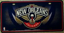 NBA Aluminum License Plate New Orleans Pelicans NEW