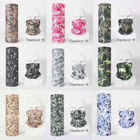 Multi-function Face Cover Neck Gaiter Balaclava Bandana Face Tube Outdoor Sports