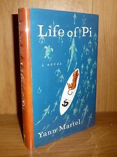 LIFE OF PI by Yann Martel TRU US HB 1st ! Basis of MOVIE & SCARCE! BOOKER PRIZE!