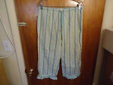 "Womens / Girls Gap Body XS Blue Multi Color Striped Pajama Pants "" BEAUTIFUL """