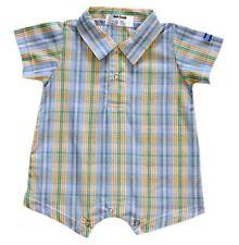 Oshkosh B'gosh Woven Plaid Romper Code #920 Size 12 months