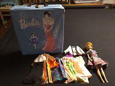 Vintage Barbie Doll 1962 Blonde Bubblecut