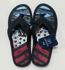 Stars & Stripes Flip Flops Sandals Men's 7-8 George New with Tags