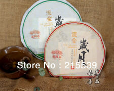 THE GOLDEN MEMORY * 2013 Lao Tong Zhi Yunnan Anning Haiwan Old Comrade Puer Tea