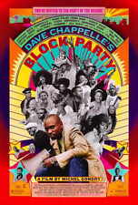 BLOCK PARTY Movie POSTER 27x40 Dave Chappelle Erykah Badu Bilal Cody Chestnutt