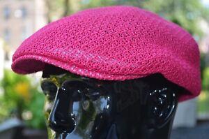 Cool Ventilated Mesh Ivy Newsboy Duckbill Ascot Golf Hat Summer Cap Many Colors