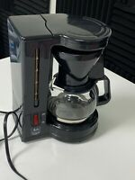 Melitta Coffee Maker Model BCM-4CB Gevalia Kaffe 4-Cup Black