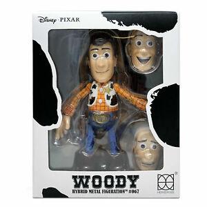 "HEROCROSS HMF #067 Disney Pixar Toy Story Woody Hybrid Metal 6"" Figure Lenny"