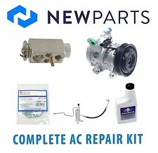 Jeep Grand Cherokee 2003 4.7L Complete A/C Repair Kit OEM Compressor with Clutch