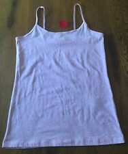 Forever 21 Basic Top Cami Heather Pink Tank Top Shirt Junior's XL NWT!!!