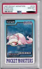 Pokemon Card Japanese Slowpoke No. 079 Carddass Bandai Graded PSA 10 GEM MINT