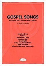 CARISCH GOSPEL SONGS 4 VOCI - CHOEUR Jazz&blues sheet Choral and ensemble, Very