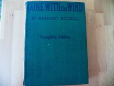 """RARE """"GONE WITH THE WIND"""" COMPLETE MOTION PICTURE ED.1940 Hardcover"""