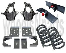 "4""/6"" Drop 1999-2007 Chevy GMC 1500 V8 2wd Spindles Suspension Lowering Flip Kit"