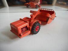 Matchbox King Size Allis-Chalmers Motor Scraper in Orange