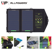 ALLPOWERS Solar Panel 10W 5V Solar Charger Portable Solar Battery Chargers Charg