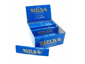 Rizla Blue King Size Super Slim 10 Booklets Rolling Papers