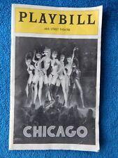 Chicago - 46th Street Theatre Playbill - July 1973 - Gwen Verdon - Chita Rivera