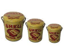 Retro Oil Drum Storage Seat, 4 Fab designs, 3 brilliant sizes. padded seat