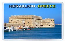 HERAKLION GREECE FRIDGE MAGNET SOUVENIR IMAN NEVERA