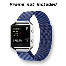 Fitbit blaze 23mm replacement milanese watch band strap bracelet