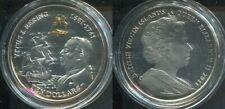 VIRGIN ISLANDS JUNGFERN I.2011 - 10 Dollars in Silber, PP - SCHIFFE Vitus Bering
