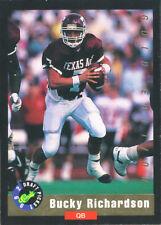 CLASSIC-GOLD Bucky Richardson RC COWBOYS OILERS Texas A&M AGGIES