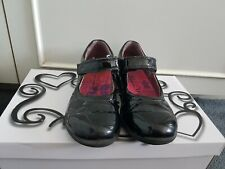 GIRLS RICOSTA BLACK PATENT SHOES SCHOOL / PARTY UK 2, EUR 34 GREAT CONDITION!