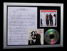 WOMACK & WOMACK Teardrops TOP QUALITY MUSIC CD FRAMED DISPLAY+FAST GLOBAL SHIP