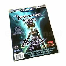 NEVERWINTER NIGHTS OFFICIAL ADVENTURE GUIDE VERSUS GAME BOOK BRAND NEW RPG