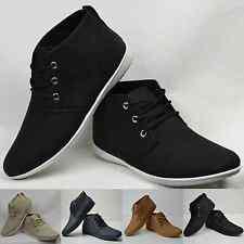 Chaussures homme mi-haute / Camel noir blanc  / 40 41 42 43 44 45