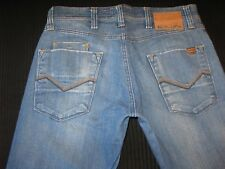 Energie Stevenson Ultra Low Bootcut Stretch Jeans Distressed 32 X 29 Italy made