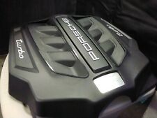 New listing Porsche Macan 3.0 Sport Cosmetic Top Motor Engine Dust Cover Panel Plastic Trim
