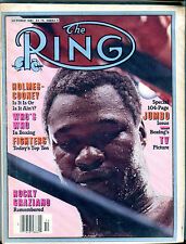 The Ring Boxing Magazine October 1981 Larry Holmes EX 060616jhe