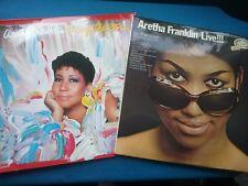 2 x VINYL ALBUMS - ARETHA FRANKLIN  (LOT N27)