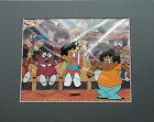 """SCHOOL HOUSE ROCK. """"VERB""""  Animation Production Cel. + 2 Drawings"""