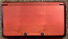 Nintendo 3DS Handheld System - Flame Red (READ DESCRIPTION)