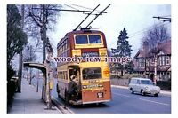 gw0451 - Maidstone Trolleybus no 89 at Barming Bull Inn in 1967 - photograph 6x4