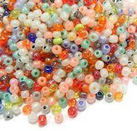 450g Rocailles MIX Perlenmischung Gemischt 4mm Schmuckherstellung Glas BEST Z30