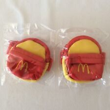 Vintage McDonalds Happy Meal Toys Childs Wrist Bag Coin Purse Mini Backpack New
